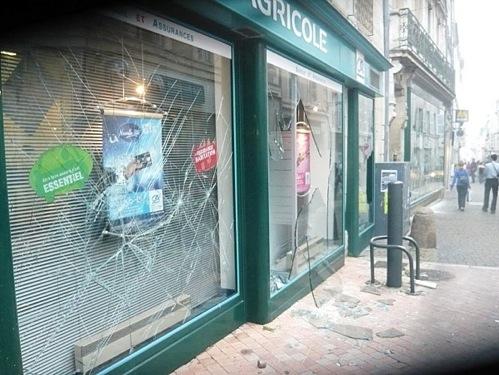 Emeutes à Poitiers