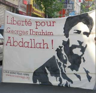 Calicot pour Georges Ibrahim Abdallah