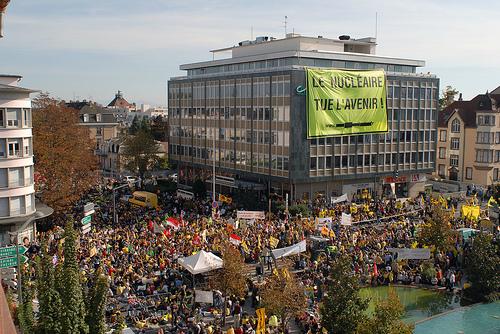 Manifestation antinucléaire à Colmar