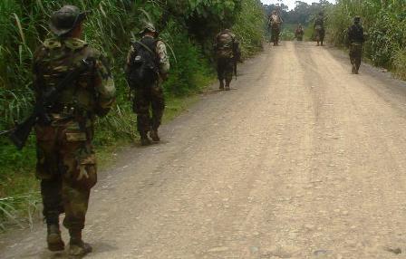 Patrouille de l'armée
