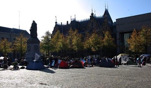 Rassemblement contre la loi anti-squatt