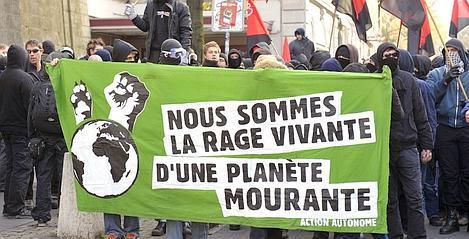 Manif anti-OMC