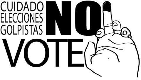 Affiche appelant au boycott