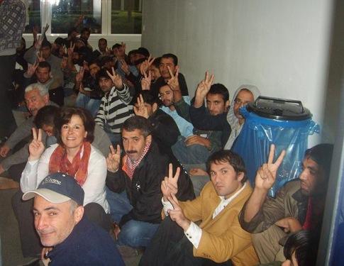 Mobilisation du CAS au CGRA