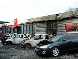 Incendies chez Citroën