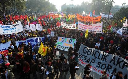 Manifestation à Ankara