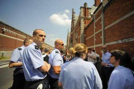 Grève à la prison de Forest