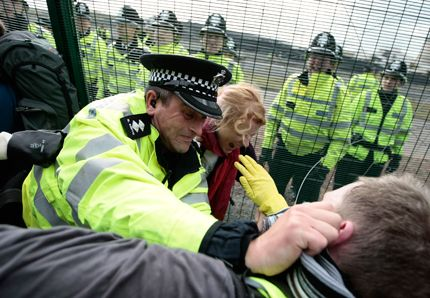 Manifestation en Angleterre