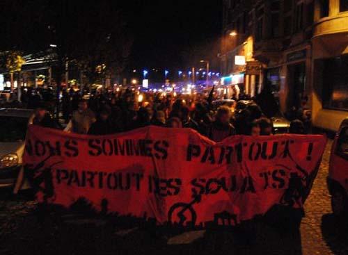 Manifestation pour la chauve souris à Liège