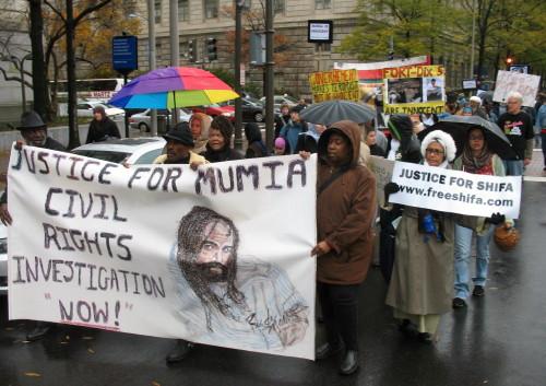 Marche pour Mumia Abu-Jamal