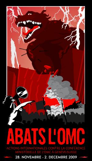 Affiche anti-OMC