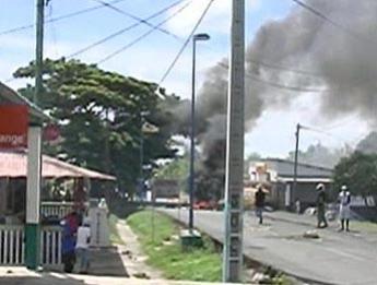 Affrontements à Mayotte