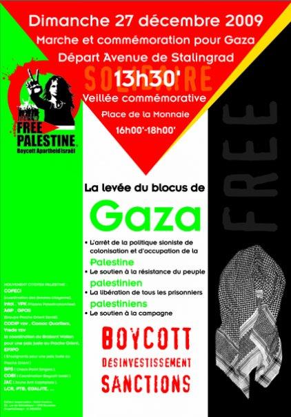 Affiche pour Gaza