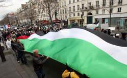 Manif pour Gaza à Bruxelles