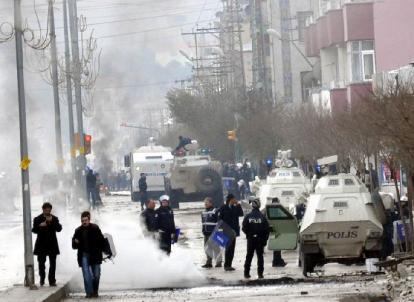 Affrontements durant une manifestation en Turquie