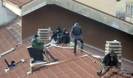 Action contre un squat à Turin