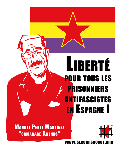 Affiche pour les prisonniers espagnols