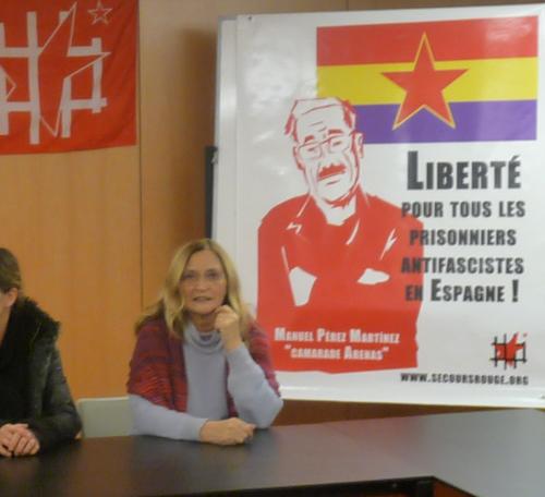 Conférence sur les prisonniers politiques espagnols