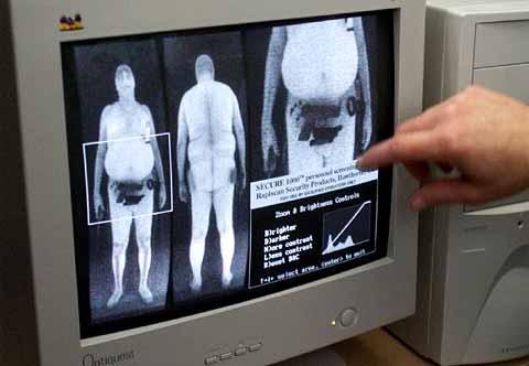 Image d'un scanner corporel