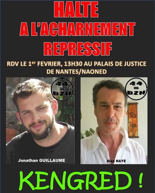 Affiche pour les indépendantistes bretons