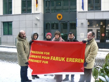 Manif pour Faruk Ereren