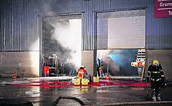 Incendie chez Michiels