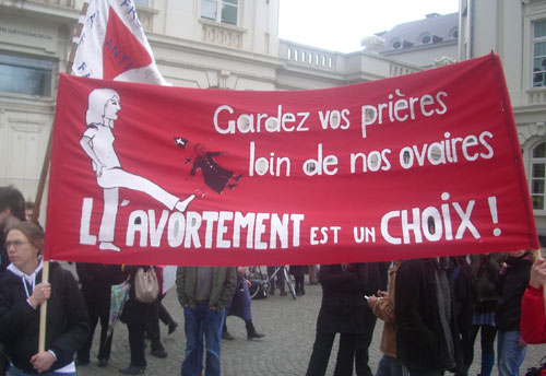 Contre-manifestation antifasciste