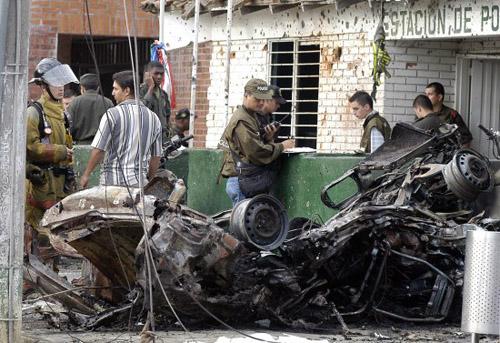 attaque des FARC contre l'armée (novembre 2003)
