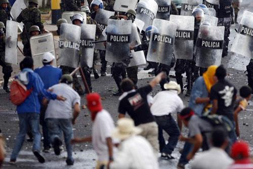 Manifestation à Tegucigalpa