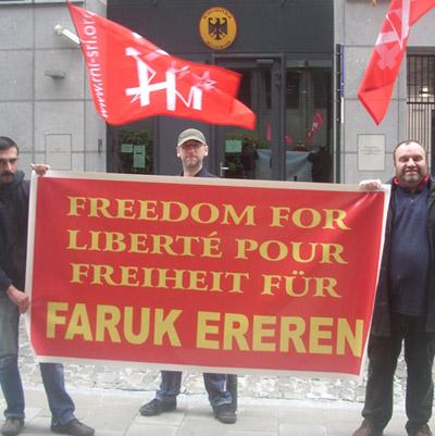 7e rassemblement pour Faruk Ereren
