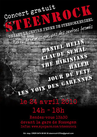 Concert de soutien aux sans-papiers STEENROCK