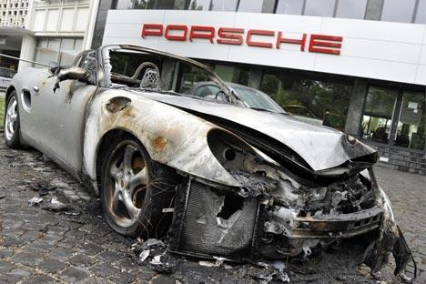 Incidents au 1 Mai à Bâle