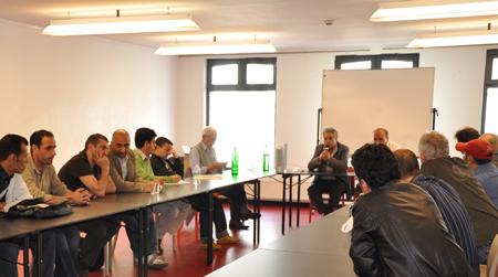Meeting pour les prisonniers arabes, Bruxelles 22 mai 2010