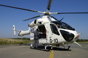 Hélicoptère de la police fédérale