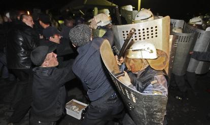 Manifestation de mineurs en Russie