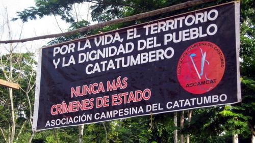 l'ascamcat, une association paysanne persécutée en Colombie