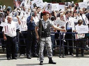 Rassemblement pour G.I. Abdallah à Beyrouth