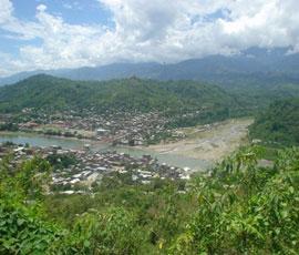 La localité de Tutumbaru