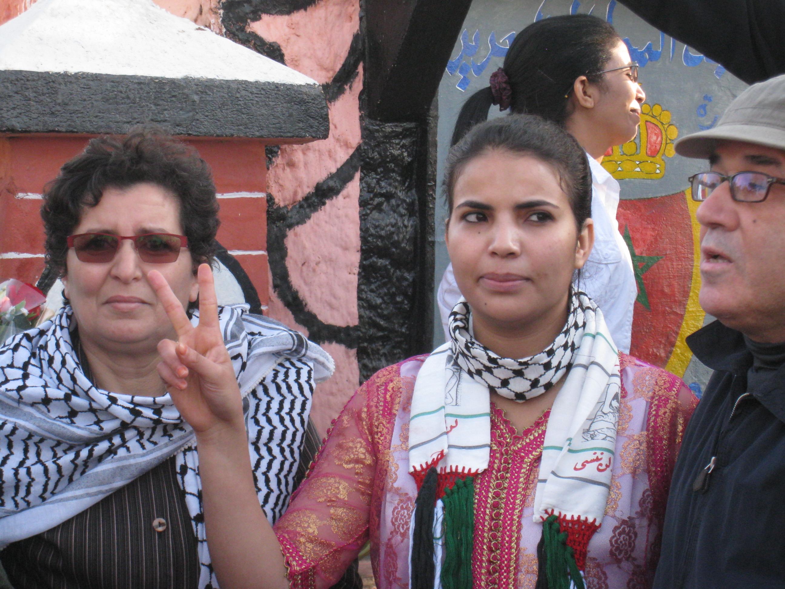 Libération de Zahra Boudkour