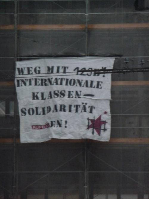 Calicot à Zurich contre le §129b