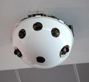 Caméra de surveillance à 360°