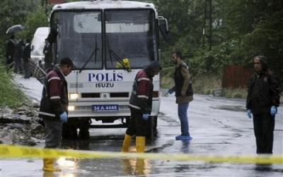 Attentat contre la police à istanbul