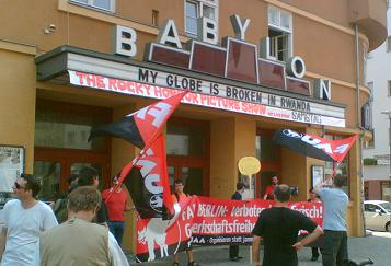 Rassemblement de la FAU à Berlin