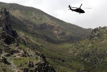 Raid aérien de l'armée turque contre le PKK