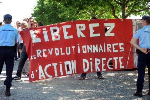 Manifestation pour Jean-Marc Rouillan
