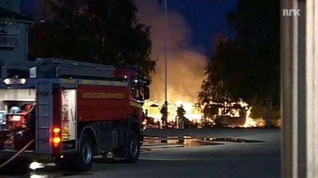 Centré fermé pour demandeur d'asile incendié en Norvège