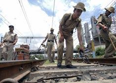 Sabotage maoïste à Patna