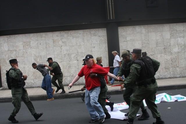 Répression policière au Panama
