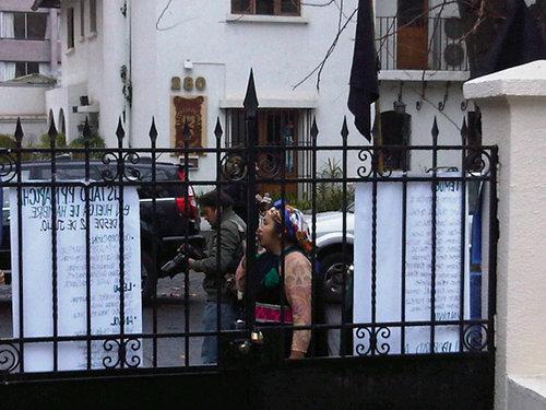 Occupation au Chili pour les mapuches