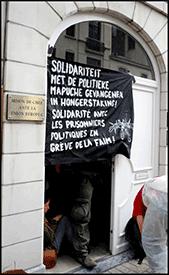 Occupation de l'ambassade du Chili à Bruxelles